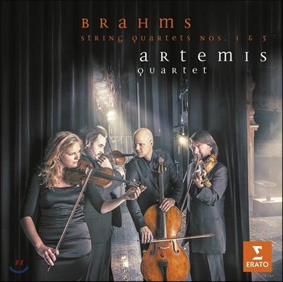 Artemis Quartet 브람스: 현악 사중주 1번, 3번 - 아르테미스 콰르텟 (Brahms: String Quartet No.1, No.3)