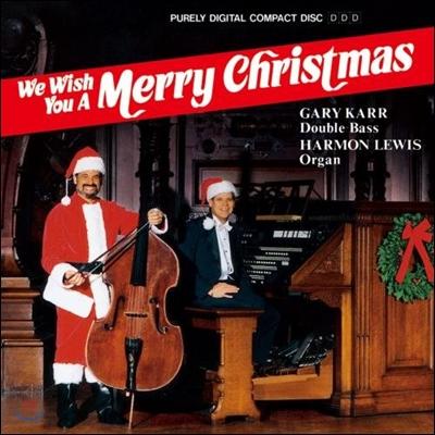 Gary Karr 게리 카 - 더블 베이스 크리스마스 캐롤집 (We Wish You A Merry Christmas)