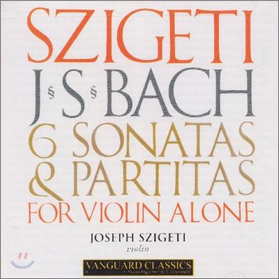 Joseph Szigeti 바흐 : 바이올린 소나타와 파르티타 (Bach : 6 Sonatas & Partitas for Violin) 요제프 시게티