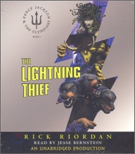 Percy Jackson and the Olympians #1 : The Lightning Thief (Audio CD)