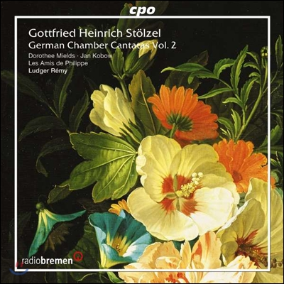 Ludger Remy 고트프리트 슈퇼첼: 독일 실내 칸타타 2권 (Gottfried Stolzel: German Chamber Cantatas Ⅱ)