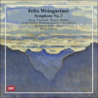 Marko Letonja 펠릭스 바인가르트너: 교향곡 7번 (Felix Weingartner: Symphony No.7 Op.88)