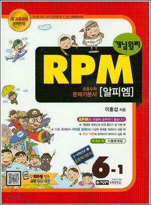 개념원리 문제기본서 RPM 초등수학 6-1 (2018년용)