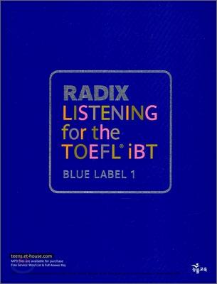 RADIX LISTENING for the TOEFL iBT
