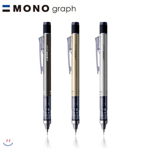 [알앤비]톰보우 모노 그래프 샤프/TOMBOW MONO graph 샤프[0.5mm/메탈컬러]