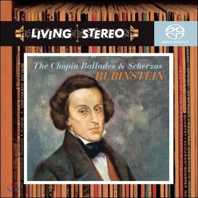 Arthur Rubinstein 쇼팽: 스케르초, 발라드 - 아르투르 루빈스타인 (Chopin: Ballade, Scherzo)