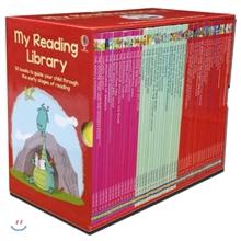 [쿠폰가 99,000원][어스본 리딩 1단계] Usborne My Reading Library 50권 세트 (Book & CD)