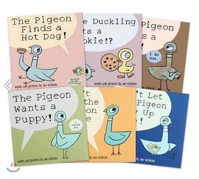 모 윌렘스 비둘기 시리즈 원서 6권 세트 : Mo Willem's Pigeon 6 Book Collection