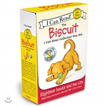 [I Can Read] My First : 비스킷 원서&CD 18종 박스 세트 : The Biscuit Collection