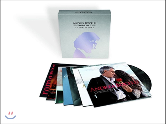 Andrea Bocelli 팝 앨범 전집 (The Complete Pop Albums Boxset)