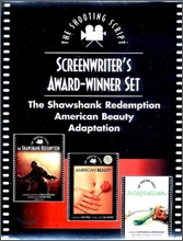 Screenwriters Award-Winner Gift Set : The Shawshank Redemption, American Beauty, and Adaptation
