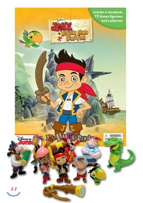 [스크래치 특가]Jake & the Never Land Pirates My Busy Book 제이크와 네버랜드 해적들 비지북 피규어책