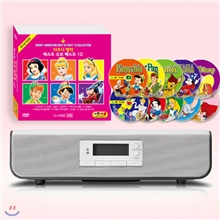 DVD플레이어 인비오PD8400 + 디즈니 명작 베스트 오브 베스트 10종 DVD세트