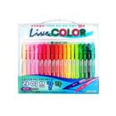 에버그린 라이브칼라36색세트  livecolor 수성펜 산뜻하고선명한