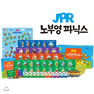 JPR 36 노부영 파닉스 세트 (세이펜 미포함)