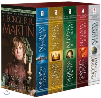 A Song of Ice and Fire : 1-5 Boxed Set