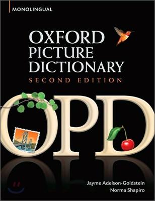 Oxford Picture Dictionary : Monolingual, 2/E