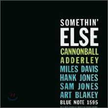 Cannonball Adderley - Somethin' Else (Blue Note 70�ֳ� ��� LP+CD Combo Reissues Deluxe Edition)