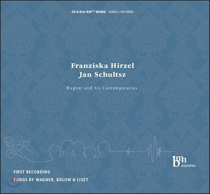 Franziska Hirzel 바그너 / 리스트 / 뷜로: 가곡집 (Wagner & His Contemporaries - Wagner / Bulow / Liszt: Songs)