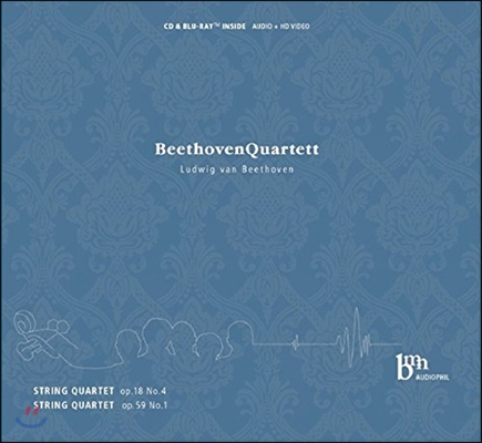 Beethoven Quartett 베토벤: 현악 사중주 Op.18 No.4, Op.59 No.1 (Beethoven: String Quartets)