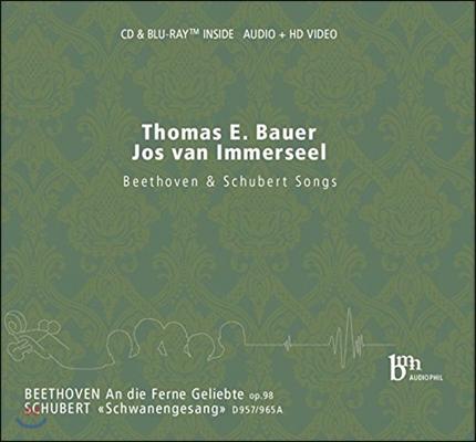 Thomas Bauer / Jos van Immerseel 베토벤: '멀리 있는 연인에게' / 슈베르트: '백조의 노래' (Beethoven: An die ferne Geliebte / Schubert: Schwanengesang)