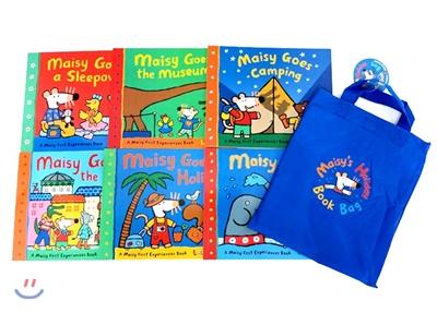 Maisy's Holiday Book Bag 메이지 6종 + 가방 세트