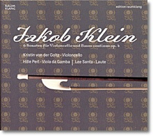 Kristin Von Der Goltz 야콥 클라인: 6개의 첼로 소나타 (Jacob Klein : Cello Sonatas Op.4)