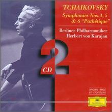 """Herbert Von Karajan 차이코프스키 : 교향곡 4,5,6번 """"비창"""" (Tchaikovsky : Symphony No.4, 5 & 6 'Pathetique')"""