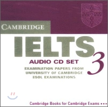 Cambridge IELTS 3 : Audio CD