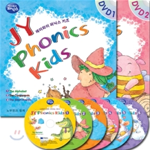 JY Phonics Kids DVD Full Set 1 - 6 (Book + CD + DVD)