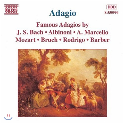 유명 아다지오 - 바흐 / 알비노니 / 마르첼로 / 모차르트 / 바버 (Adagio - Bach / Albinoni / A. Marcello / Mozart / Barber / Bruch)
