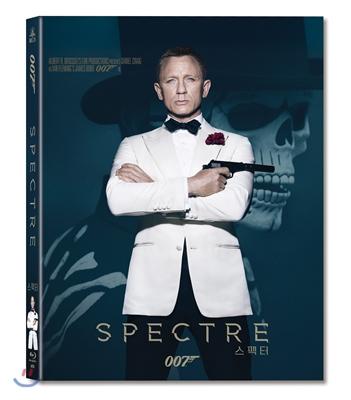 007 스펙터 (풀슬립 스틸북 한정판) : 블루레이