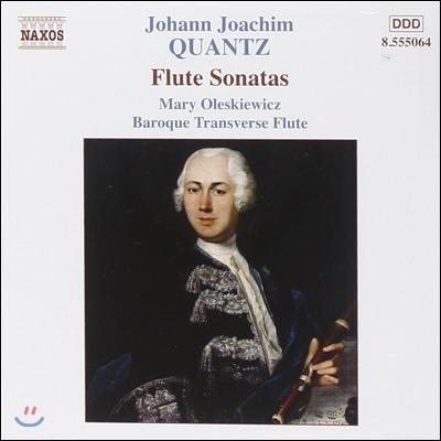 Mary Oleskiewicz 요한 크반츠: 플루트 소나타 [바로크 트라베르소 플룻 연주] (Johann Joachim Quantz: Flute Sonatas)
