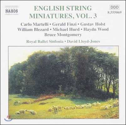 David Lloyd-Jones 영국 현악 소품 3집 - 홀스트 / 제랄드 핀지 (English String Miniatures Vol.3 - Gustav Holst / Gerald Finzi)
