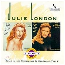 Julie London (줄리 런던) - Julie Is Her Name + Julie Is, Vol.2