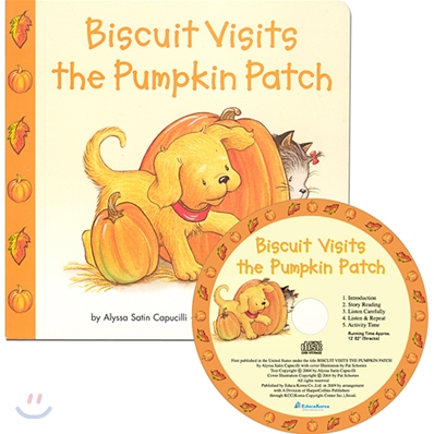 Biscuit Visits the Pumpkin Patch (Book & CD)
