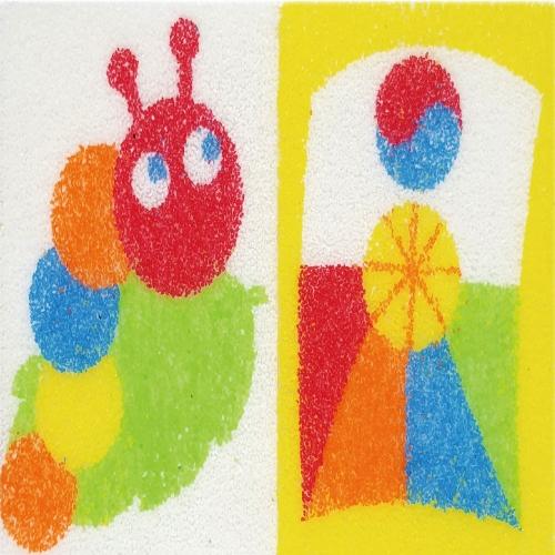 [데코샌드] 꼬메빔보 연필꽂이만들기 204 애벌레,방패연