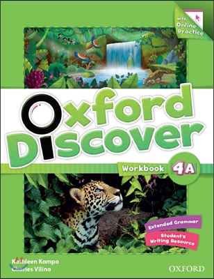 Oxford Discover Split 4A : Workbook with On-line Practice