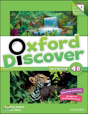 Oxford Discover Split 4B : Workbook with On-line Practice