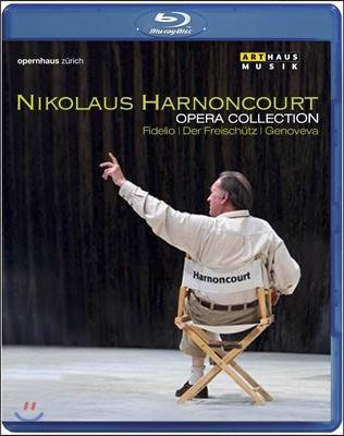 Nikolaus Harnoncourt 니콜라우스 아르농쿠르 오페라 컬렉션 - 베토벤: 피델리오 / 베버: 마탄의 사수 / 슈만: 게노베바 (Opera Collection - Fidelio, Der Freischutz, Genoveva)