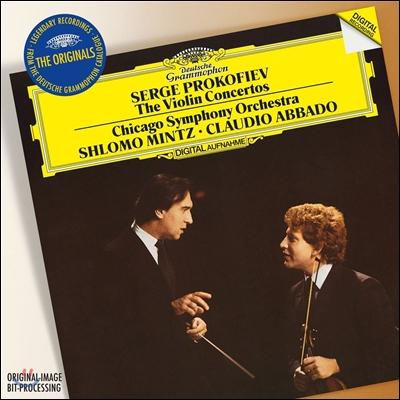 Shlomo Mintz / Claudio Abbado 프로코피에프: 바이올린 협주곡 1, 2번 - 슐로모 민츠, 클라우디오 아바도 (Prokofiev: Violin Concertos)