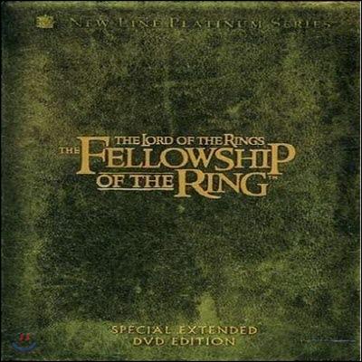 [중고] [DVD] The Lord Of The Rings : The Fellowship Of The Ring - 반지의 제왕 : 반지원정대 확장판 (4DVD/digipack/수입/한글자막없음)
