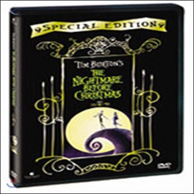 [중고] [DVD] Tim Burton's The Nightmare Before Christmas - 크리스마스의 악몽 SE (수입/한글자막없음)