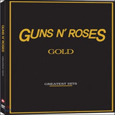 [중고] [DVD] Guns N' Roses Gold - Greatest Hits (아웃케이스없음)