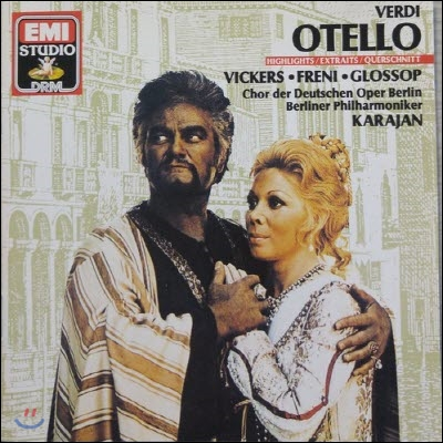 [중고] Karajan / Verdi - Otello Highlights (수입/cdm7634542)
