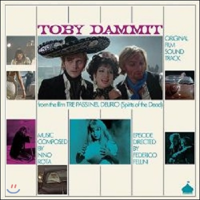 Toby Dammit (토비 대밋) OST (Music by Nino Rota) (Original Film Soundtrack)