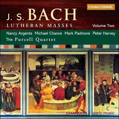 Purcell Quartet / Mark Padmore 바흐: 루터교도의 미사 2권 - BWV233, 236, 트리오 소나타 5번 BWV529 (Bach: Lutheran Masses Vol.2) 마크 패드모어, 퍼셀 사중주단