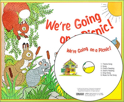 My Little Library Pre-Step : We're Going on a Picnic! (Hardcover Set)