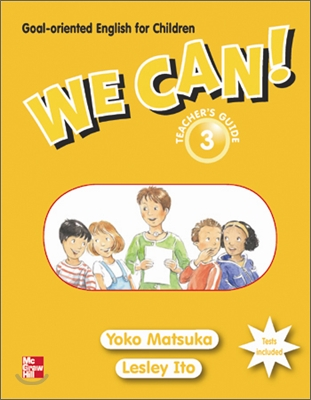We Can! 3 : Teacher's Guide