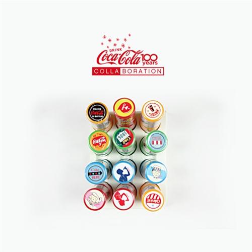[COCACOLA]코카콜라 미니 데코 스탬프